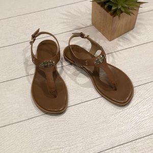 Michael Kors ML Plate Thong Sandals